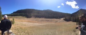 Picture of The McLaren Tailings reclamation site.
